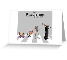 THE PLAYSTATION GENERATION Greeting Card