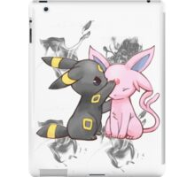 Espeon and Umbreon iPad Case/Skin