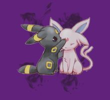 Espeon and Umbreon by AsunaYuuki