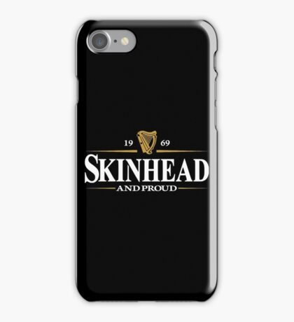 1969 Skinhead And Proud  iPhone Case/Skin