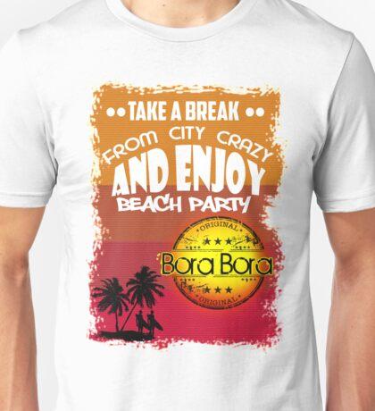 Summer In Bora Bora Unisex T-Shirt