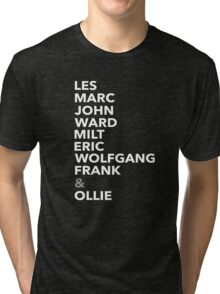 The Nine Old Men Tri-blend T-Shirt