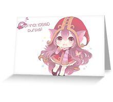 Cute Lulu Greeting Card
