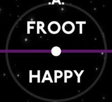 Froot/Happy Vinyl - Marina and the Diamonds Sticker