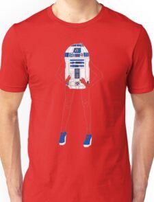 Girl Robot Unisex T-Shirt