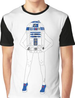 Girl Robot Graphic T-Shirt