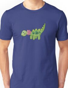 Pink ribbon Dino Unisex T-Shirt