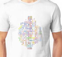Mosaic #9, tiled design Unisex T-Shirt