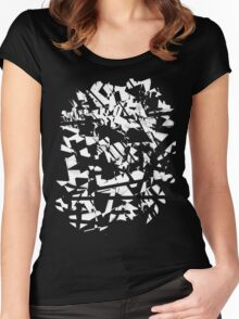 Broken Waving Light - Art5 Women's Fitted Scoop T-Shirt