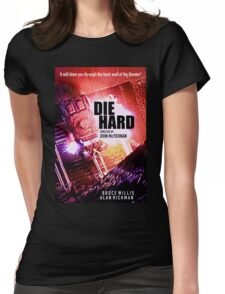 DIE HARD 3 Womens Fitted T-Shirt