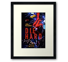 DIE HARD 4 Framed Print