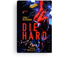 DIE HARD 4 Canvas Print