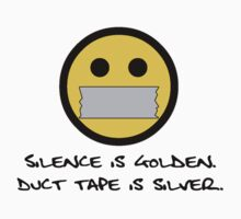 Silence is Golden Kids Clothes