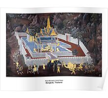 Traditional Thai Art Poster