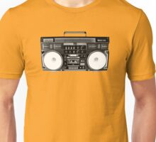 Ghetto Blaster Invert Unisex T-Shirt