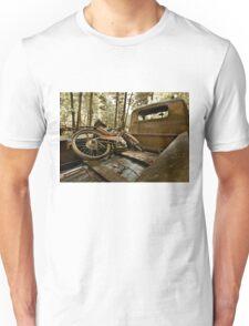 Vintage moped - swap meet find Unisex T-Shirt