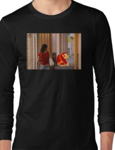 Donkey Kong Spotted Long Sleeve T-Shirt