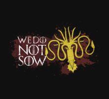 We Do Not Sow - House Greyjoy T-Shirt