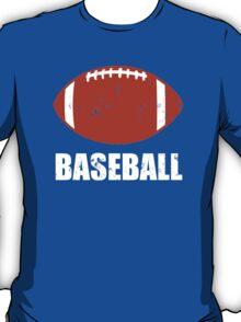 Football Baseball Troll T-Shirt