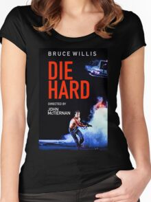 DIE HARD 5 Women's Fitted Scoop T-Shirt