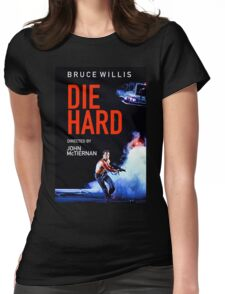 DIE HARD 5 Womens Fitted T-Shirt