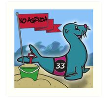 No Agenda - Ep 853 - Cover Art Art Print