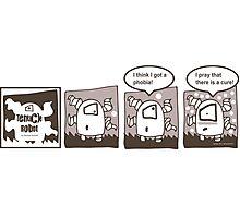 Tentacle Robot Story - Phobia Photographic Print