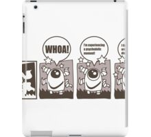 Tentacle Robot Story - Psychedelic iPad Case/Skin