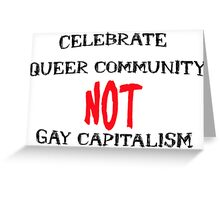 Queer Community Greeting Card