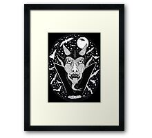 Space Devil Framed Print