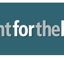 Fight for the bight - blue sticker Sticker