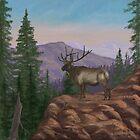 King of the Mountain by EllieTaylorArt