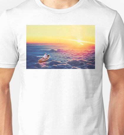 The skys the limit Unisex T-Shirt
