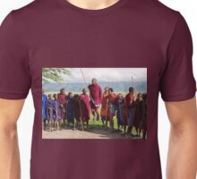 Maasai Traditional Dance Unisex T-Shirt