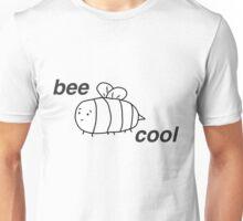 Bee Cool: B & W Unisex T-Shirt