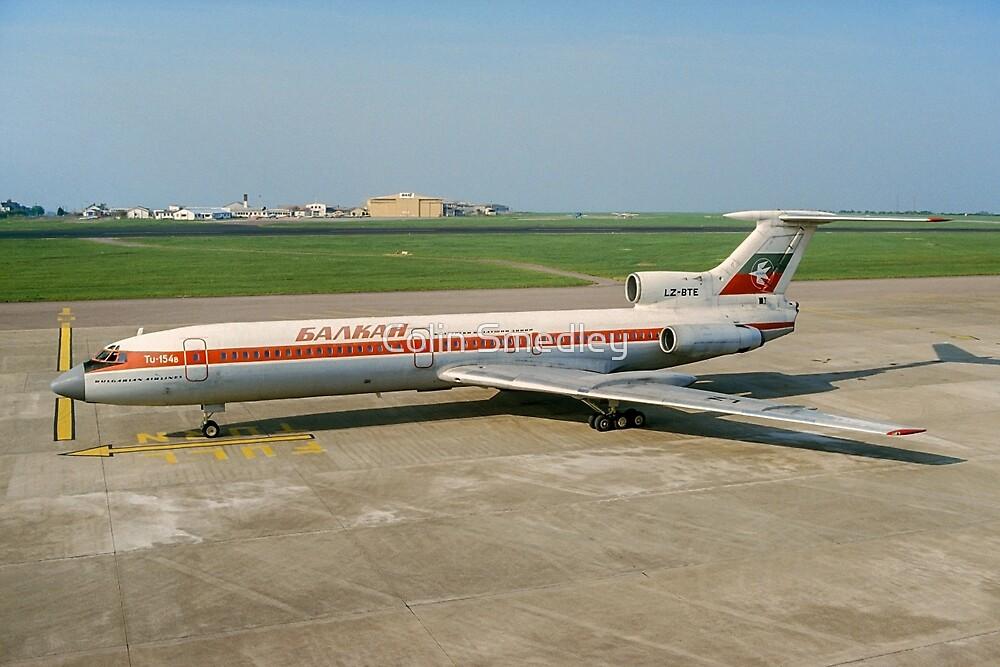Tupolev Tu-154B LZ-BTE Balkan Bulgarian Airlines by Colin Smedley