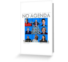 No Agenda Show - Episode 855 - 'Burkini Meanie' - Cover Art Greeting Card