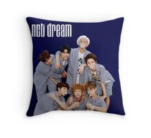 nct dream chewinggum poster Throw Pillow