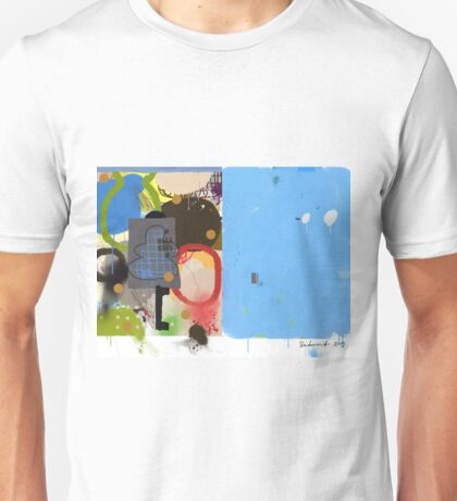 Abstract talk 003 Unisex T-Shirt