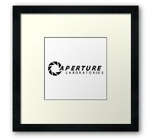 Aperture Labs and Science Framed Print