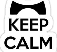 Keep Calm And Be A PandiCorn Sticker