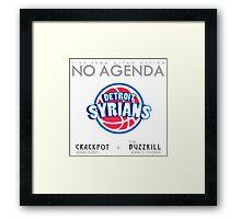 No Agenda Show - Episode 857 - Cover Art Framed Print