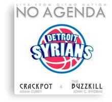 No Agenda Show - Episode 857 - Cover Art Canvas Print