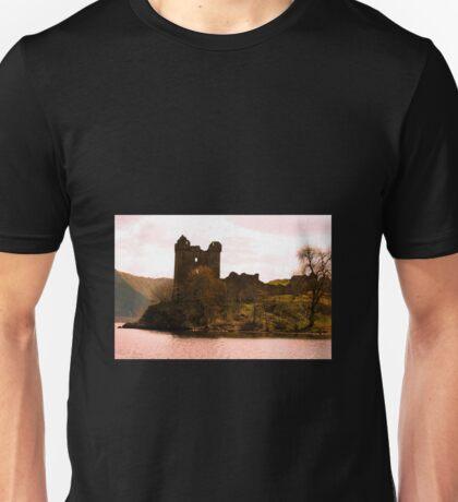 Urquhart Castle on Loch Ness Scotland Unisex T-Shirt
