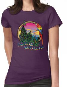 Mowie Wowie Womens Fitted T-Shirt