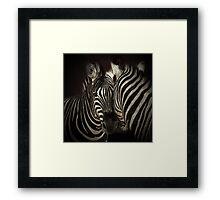 Love lines Framed Print