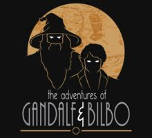 The Adventures Of Gandalf & Bilbo - Gold by ShadyEldarwen