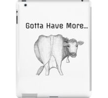 Cowbell iPad Case/Skin