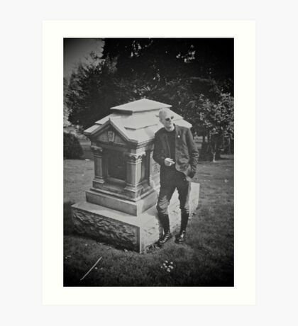 Riverview Cemetery Art Print
