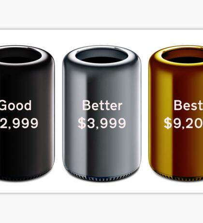 Mac Pro Pricing Sticker